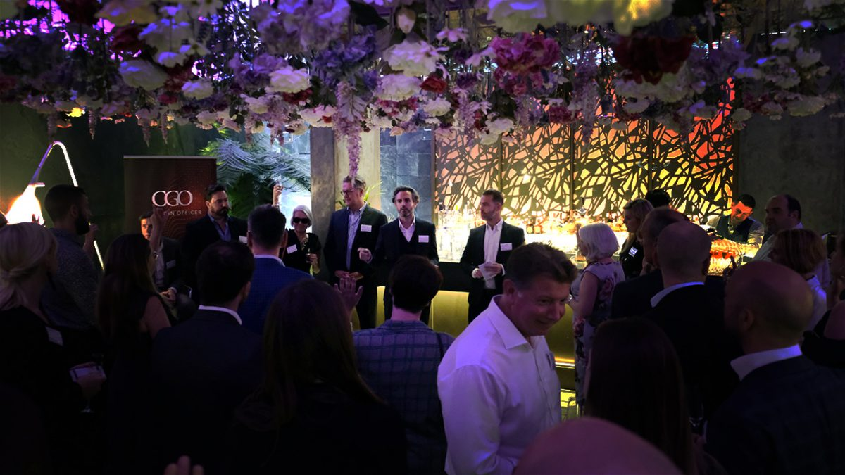 Craig McCartney, Richard Porter and Peter McCombie introduce Chief Wine Officer at The Secret Garden at South Place Hotel