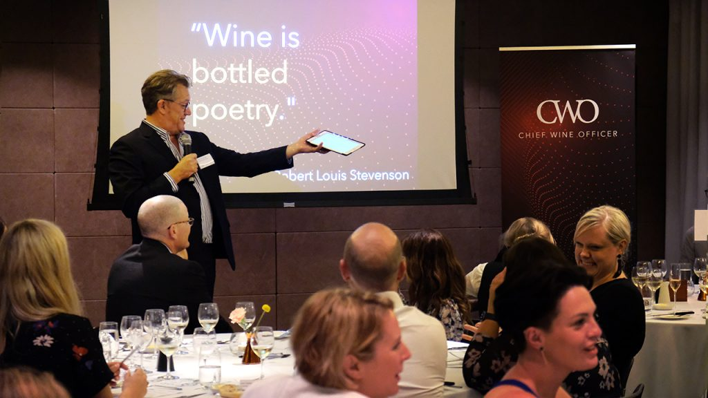 Peter McCombie at Chief Wine Officer