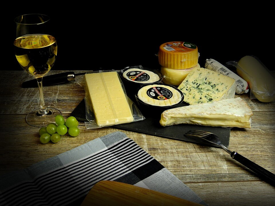 cheese and white wine facts