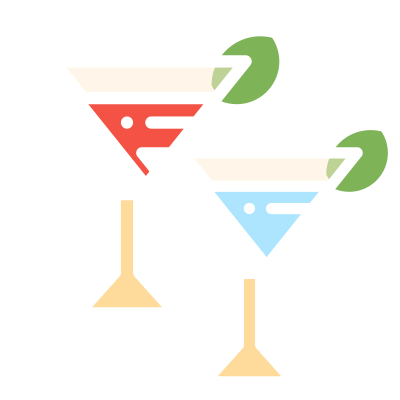 2 gin cocktails 2