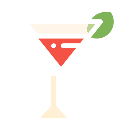 Gin drink icon 1
